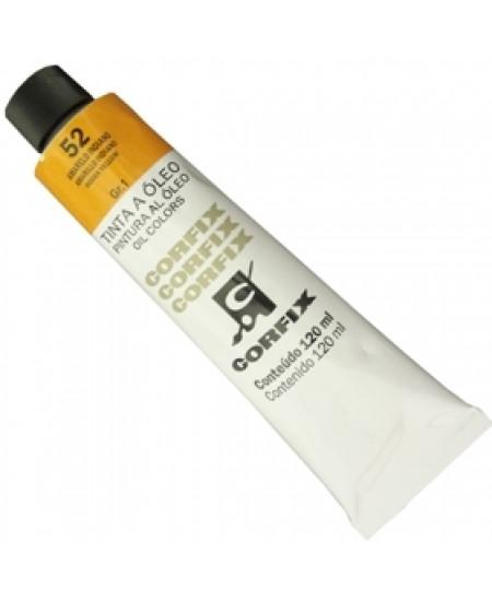 Tinta a Óleo Corfix 120ml 052 Amarelo Indiano