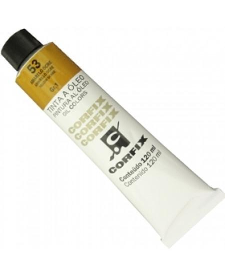Tinta a Óleo Corfix 120ml 053 Amarelo Ocre