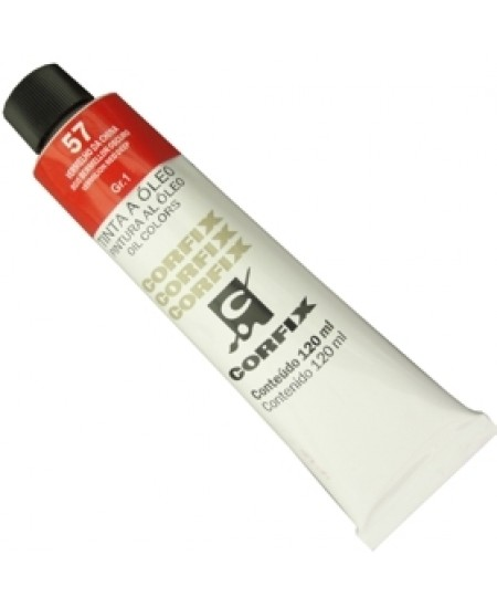 Tinta a Óleo Corfix 120ml 057 Vermelho China