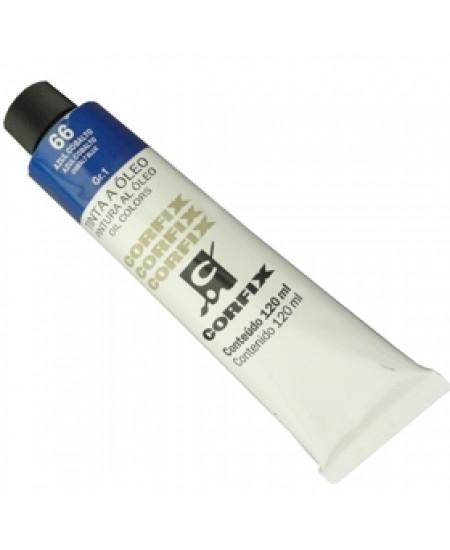 Tinta a Óleo Corfix 120ml 066 Azul Cobalto