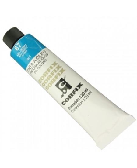 Tinta a Óleo Corfix 120ml 067 Azul Celeste