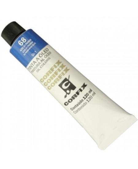 Tinta a Óleo Corfix 120ml 068 Azul Ultramar
