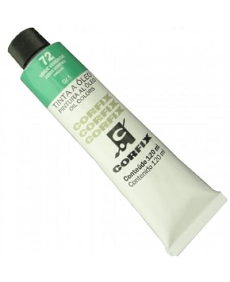 Tinta a Óleo Corfix 120ml 072 Verde Veronese