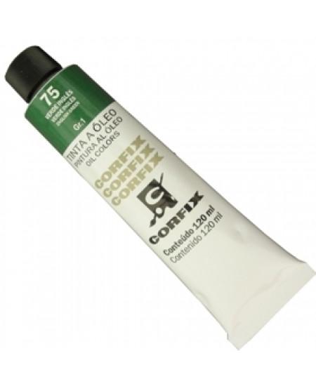 Tinta a Óleo Corfix 120ml 075 Verde Inglês