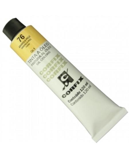 Tinta a Óleo Corfix 120ml 076 Amarelo Pele