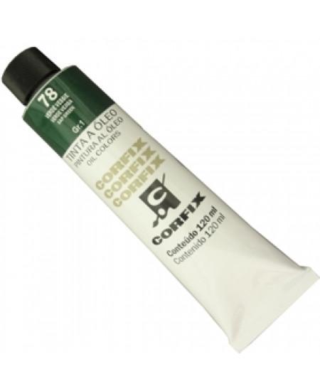 Tinta a Óleo Corfix 120ml 078 Verde Vessie