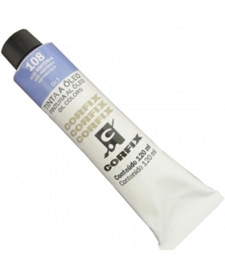 Tinta a Óleo Corfix 120ml 108 Azul Hortênsia