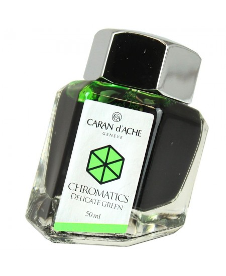 Tinta Caneta Tinteiro Chromatics CARAN d'ACHE Delicate Green 50ml