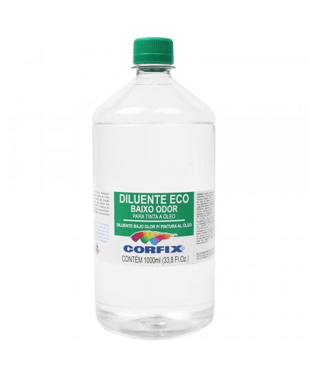 Diluente Eco Corfix 1000ml Solvete sem cheiro