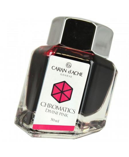 Tinta Para Tinteiro Chromatics Caran d'Ache Divine Pink 50ml