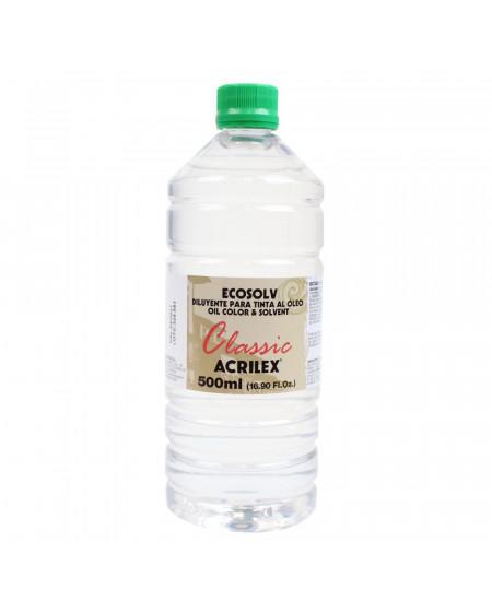 Diluente Ecosolv Acrilex sem Cheiro 500ml