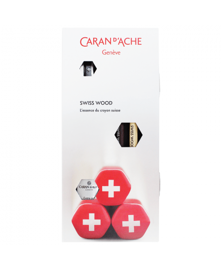 Estojo SWISS WOOD Caran D'Ache