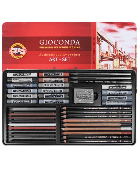 Estojo de desenho Gioconda Art Set 8891