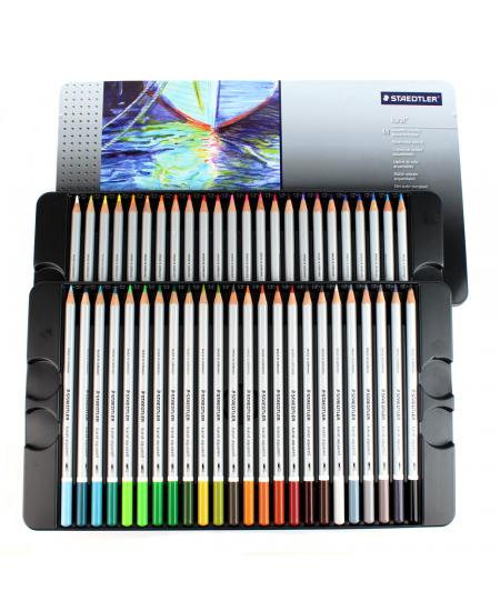 Lápis Aquarelável Karat Staedtler 48 cores 125M48