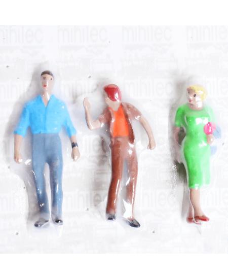 Figuras Para Maquetes 1/43 416 Minitec 03 Peças