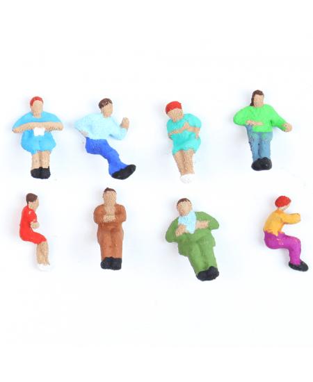 Figuras Para Maquetes 1/200 2301 Minitec 08 Peças