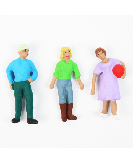 Figuras Para Maquetes 1/50 700 Minitec 03 Peças