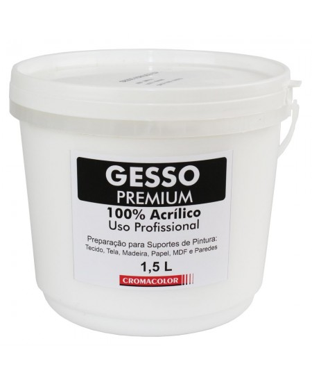 Gesso Acrílico PREMIUM Cromacolor 1,5L