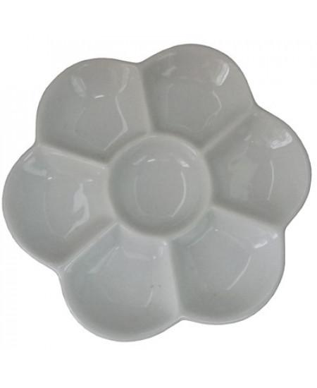 Godê de Porcelana com 07 Cavidades SFA110