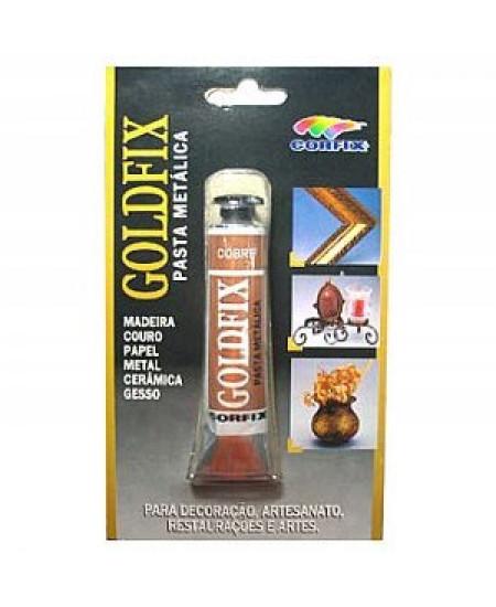 Goldfix Pasta Metálica 20ml Corfix Cobre