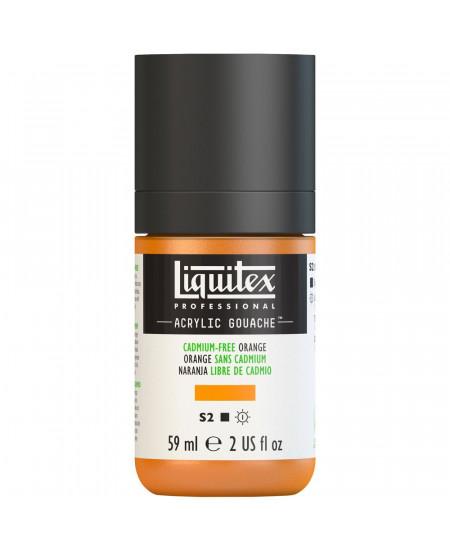Tinta Acrílica Guache Liquitex 59ml S2 892 Cadmium Free Orange