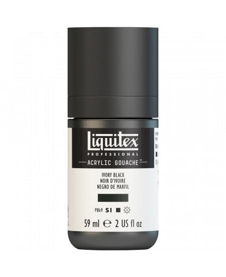 Tinta Acrílica Guache Liquitex 59ml S1 244 Ivory Black