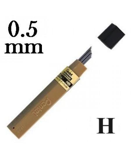Mina Grafite Pentel 0.5mm H