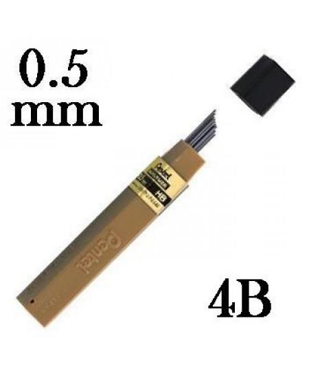 Mina Grafite Pentel 0.5mm 4B