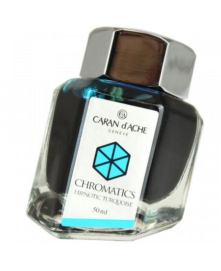 Tinta Para Tinteiro Chromatics Caran d'Ache Hypnotic Turquoise 50ml