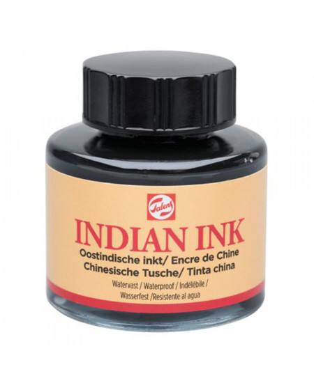 Tinta Nanquim Indian Ink Talens 30ml