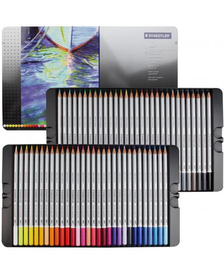 Lápis Aquarelável Karat Staedtler 60 Cores 125M60