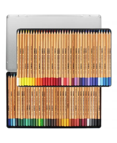 Lápis Aquarell Lyra 72 Cores