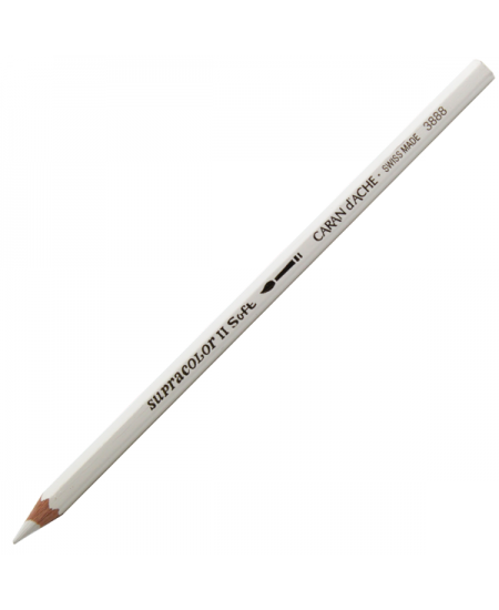 Lápis Aquarelado Caran D'Ache Supracolor 001 White