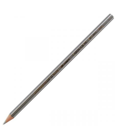 Lápis Aquarelado Caran D'Ache Supracolor 498 Silver
