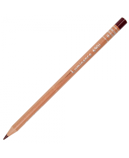 Lápis de Cor Caran d'Ache Luminance 599 Crimson Aubergne