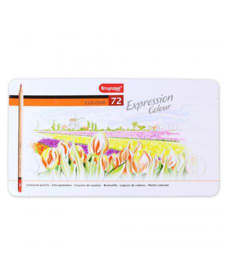 Lápis de Cor Bruynzeel Expression 72 Cores