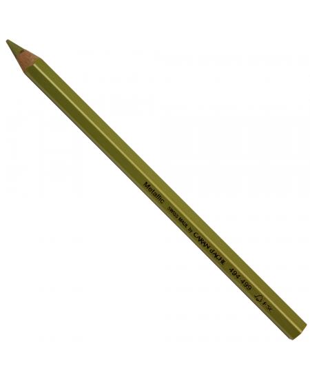 Lápis jumbo Caran D'Ache Metálico Produzido com a qualidade incomparável do lápis Caran D'Ache na versão Jumbo para desenho.