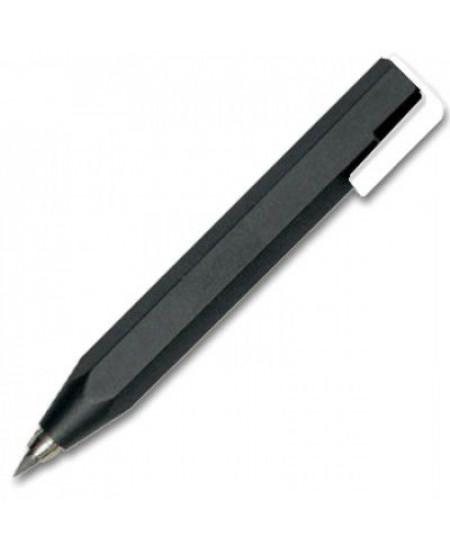 Lapiseira 3.15mm Worther Shorty Preto e Branco