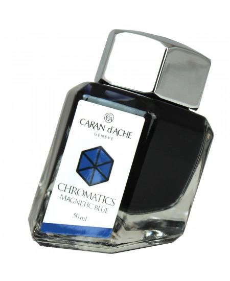 Tinta Para Tinteiro Chromatics Caran d'Ache Magnetic Blue 50ml