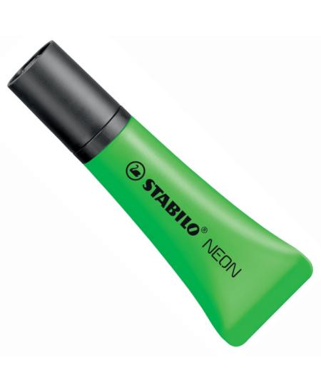 Marca Texto Stabilo Neon Verde