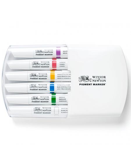 Marcador Pigment Marker Winsor & Newton Tons Ricos