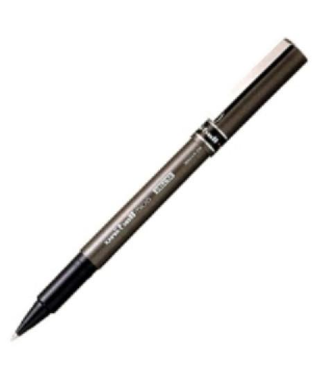 Caneta Micro Deluxe Uni-Ball 0.5mm Preto UB-155