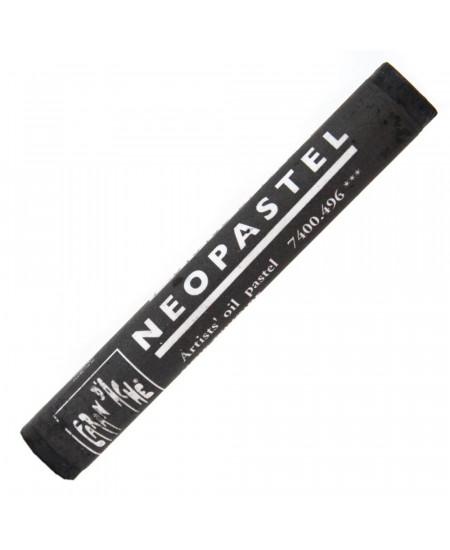 Pastel Oleoso Neopastel Caran d'Ache 496 Ivory Black