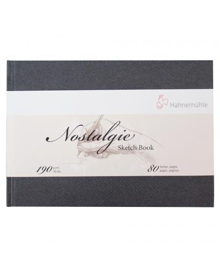 Bloco Papel Sketchbook Nostalgie Hahnemühle A5 Paisagem