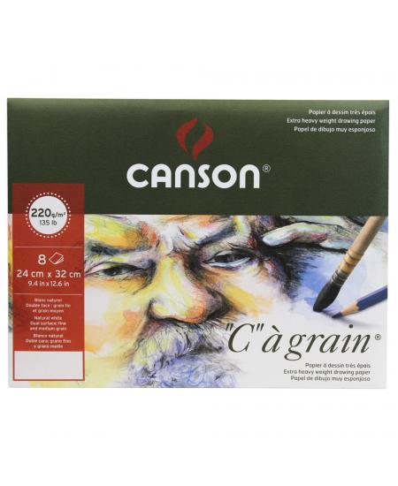 Pochette C à Grain Canson