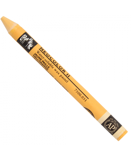 Giz Aquarelável Neocolor II Caran D'Ache 031 Orangish Yellow