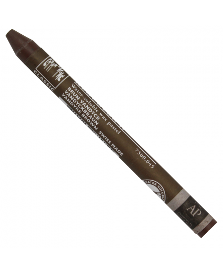 Giz Aquarelável Neocolor II Caran D'Ache 045 Vandyke Brown