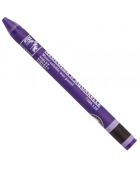 Giz Aquarelável Neocolor II Caran D'Ache 120 Violet