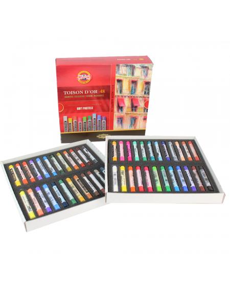 Pastel Seco Koh-I-Noor  48 Cores 8516