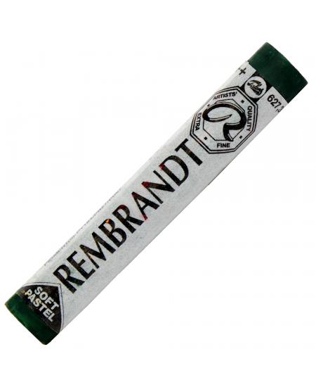 Pastel Seco Rembrandt 627.3 Cinnabar Green Deep